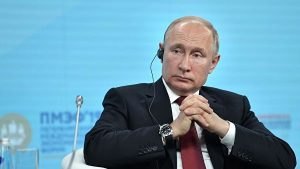 Putyin: A Donbasszban a rendezés elkerülhetetlen
