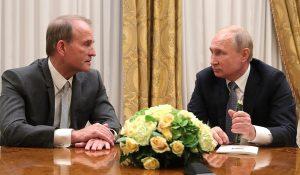 Szankció alá vették Ukrajnában az orosz elnökhöz hű Medvedcsukot