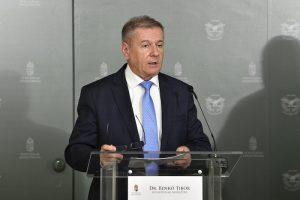 Az ukrán nagykövetet fogadta Benkő Tibor