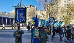 Felháborodást keltett a nácikkal együttműködő ukrán hadosztályra emlékező kijevi felvonulás