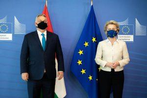 Orbán Viktor és von der Leyen Brüsszelben találkozott