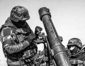 Az ukrán hadsereg tüzet nyitott az LNR lakott településeire