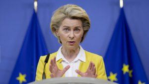 Von der Leyen megalázta Ukrajna elnökét