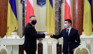 Andrzej Duda: Varsó támogatja Ukrajna csatlakozását a NATO-hoz és az Európai Unióhoz