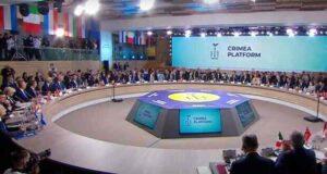"""A """"Krími Platform"""" megnyitóján valami nem úgy sült el…"""
