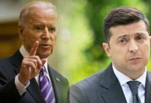 Milyen útmutatót adott Biden Zelenszkijnek Oroszországgal és a Donbasszal kapcsolatban?